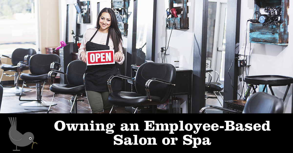 Owning an Employee-Based Salon or Spa
