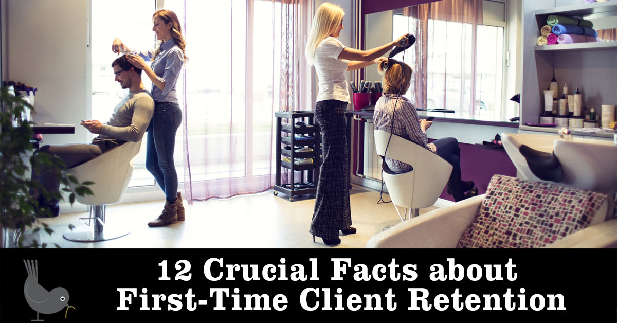 salon spa first-time client retention