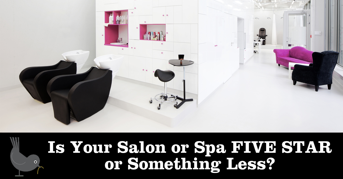 Is your salon or spa five star