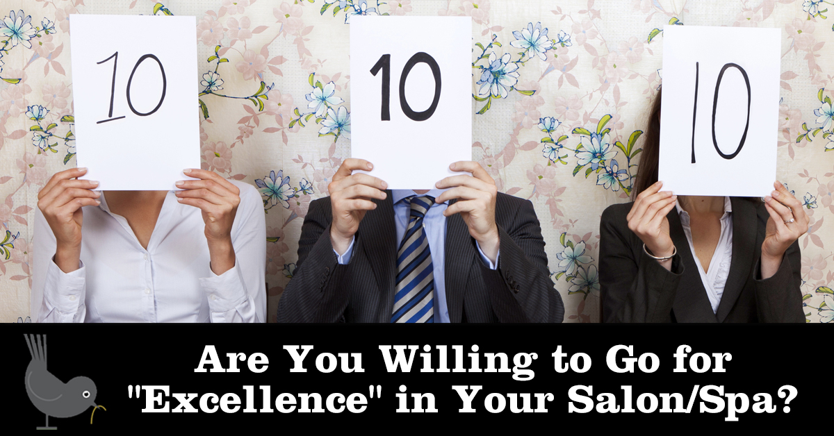 "Are You Willing to Go for ""Excellence"" in Your Salon/Spa?"