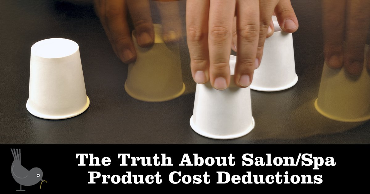 The Truth About Salon/Spa Product Cost Deductions