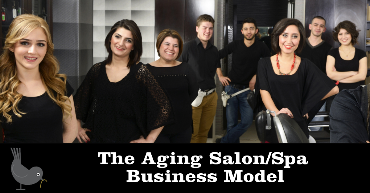 The aging salon/spa business model