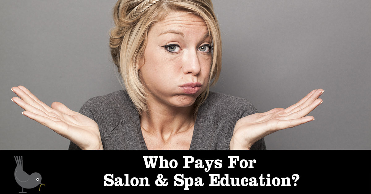 Who Pays for Salon Spa Education?