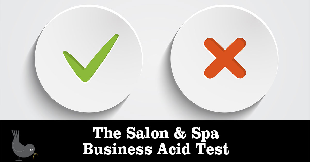 Salon & Spa Business Acid Test