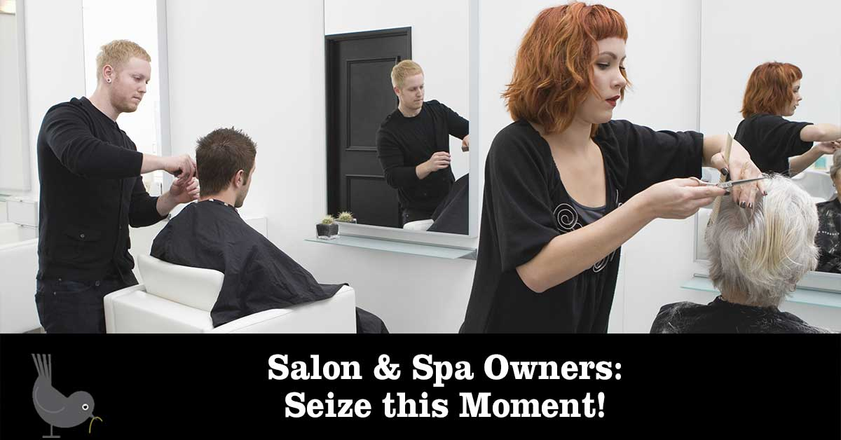 Salon Spa Owners Seize the Moment