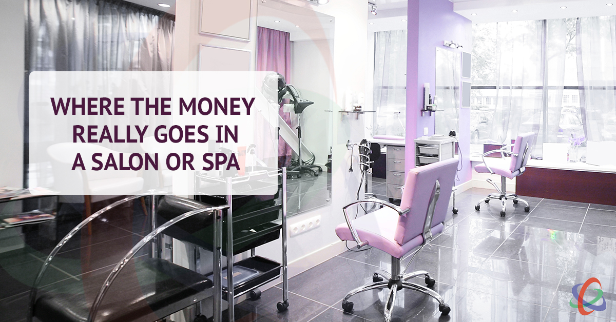Where Money Really Goes in a Salon or Spa