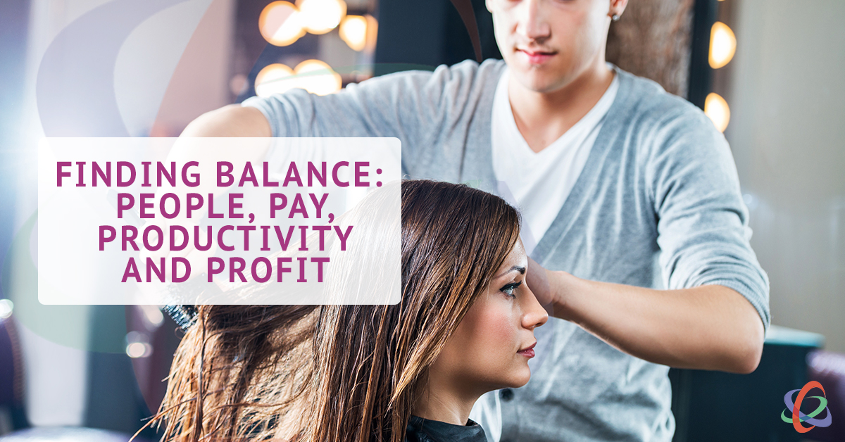 Finding Balance - People, Pay Performance Profit Salon Spa
