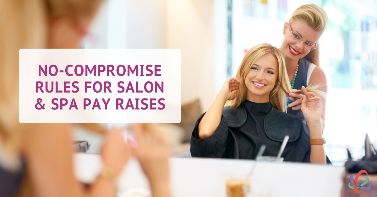 rules for salon and spa pay raises