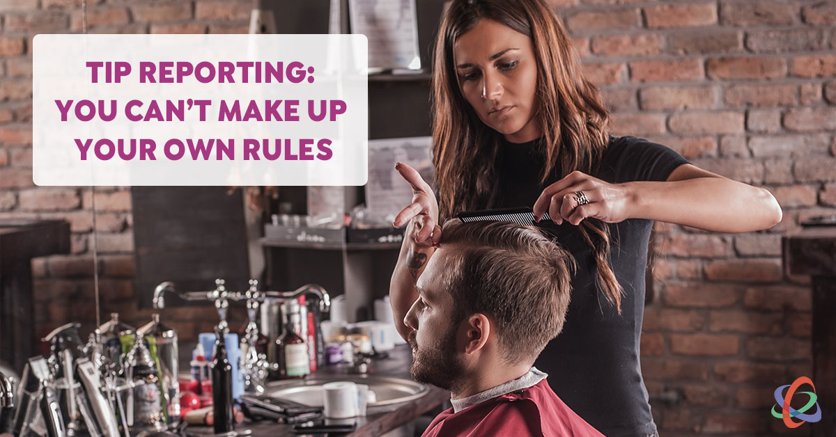 tip reporting for salons and spas
