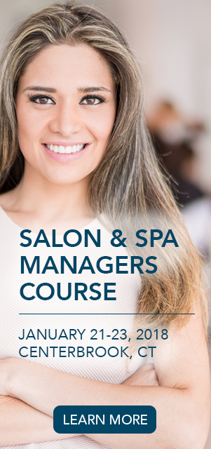 Salon Spa Manager Course January 21-23, 2018