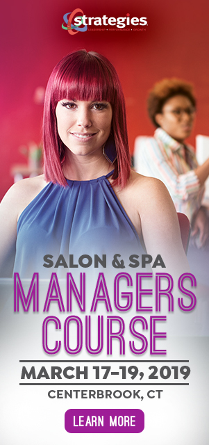 Salon Spa Manager Course March 17-19, 2019