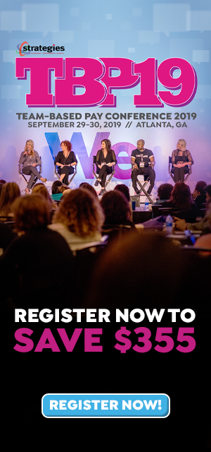Team-Based Pay Conference Sept 29-30 2019 Atlanta GA