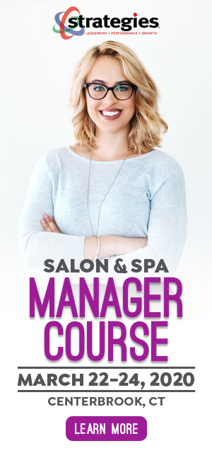 salon spa manager course march 22-24, 2020