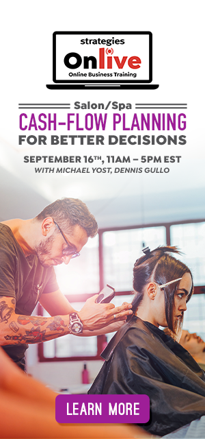 cash flow planning for salons spas online training