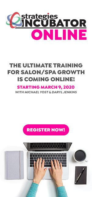 Incubator Online Salon Spa Business Training March 2020