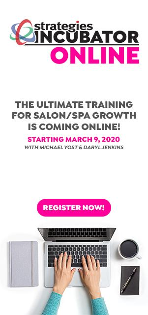 Incubator Online Salon Spa Business Training March 2020
