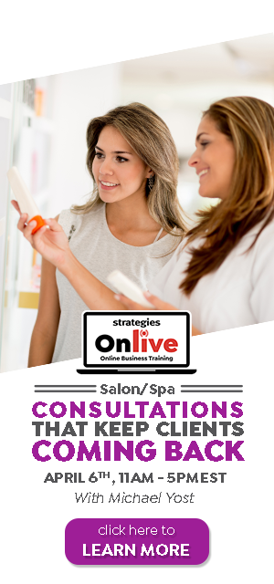 salon spa consultations onlive training april 2020
