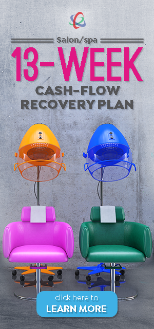 salon/spa 13-week cash-flow recovery plan