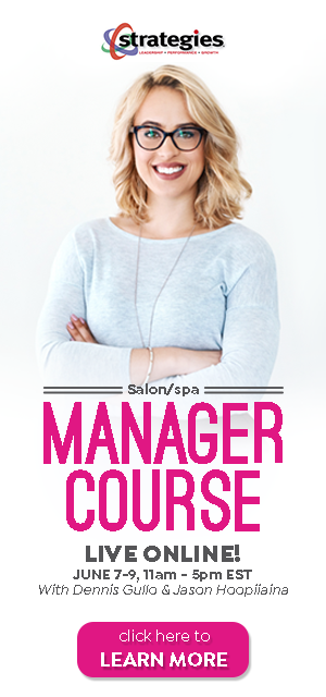 Salon Spa Manager Course Online June 2020