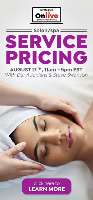 salon spa pricing services onlive training august 2020