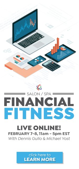 Salon Spa Financial Fitness - Feb 7-8, 2021