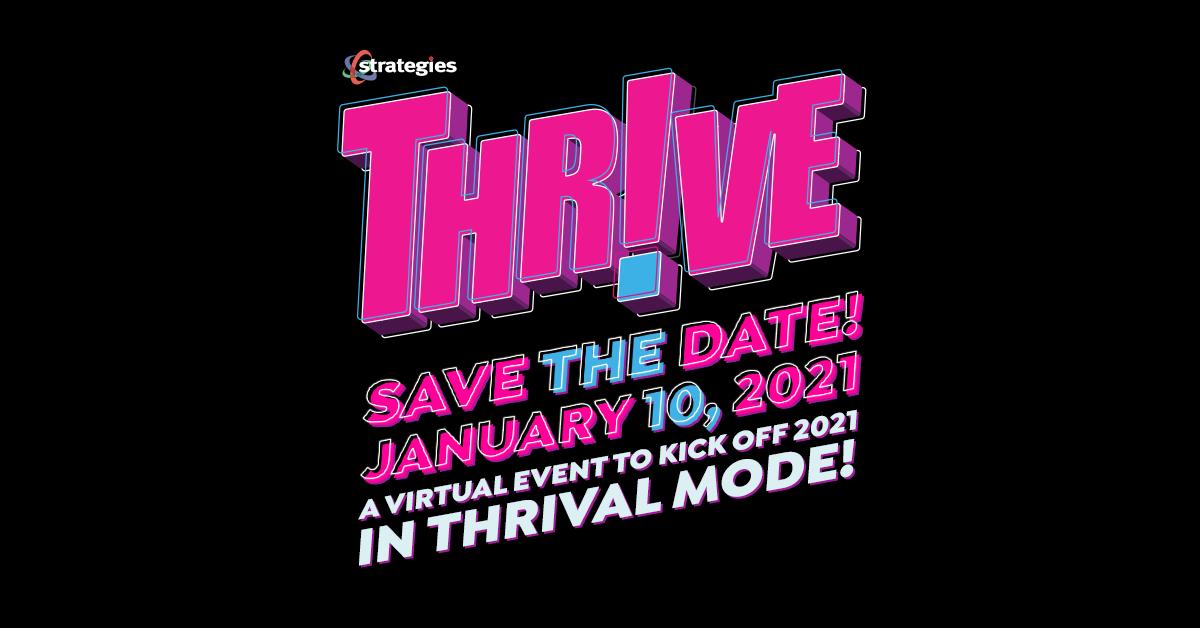 THRIVE - Sunday, January 10, 2021