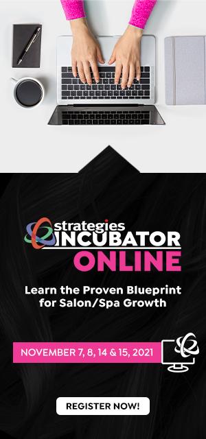 Strategies Incubator - Business Training for Salons, Spas & Medspas - Nov 2021